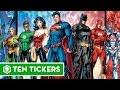 Top 10 siêu anh hùng được yêu thích nhất của DC | Ten Tickers No. 16