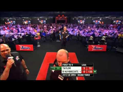 PDC Uk open 2013 - Third Round - Taylor vs R Huybrechts