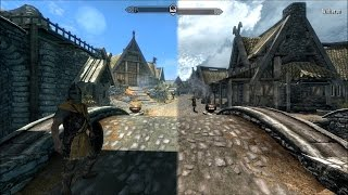 Skyrim: Legendary Edition vs. Skyrim: Special Edition Graphics Comparison (PC)