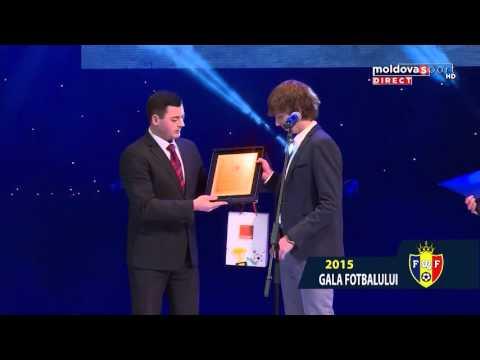 GALA LAUREATILOR FOTBALULUI MOLDOVENESC 2015 // MOLDOVA SPORT TV
