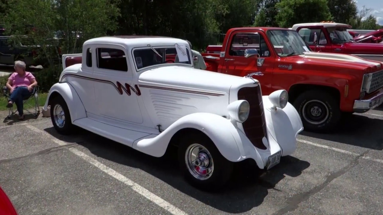 Car Show at Glidden Auto Body Bangor, Maine - YouTube