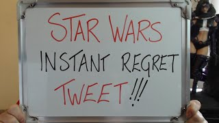 STAR WARS Instant Regret Tweet: Called Out for MASSIVE HYPOCRISY!!