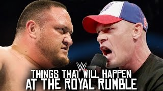 10 Things That WILL Happen At The Royal Rumble 2017!