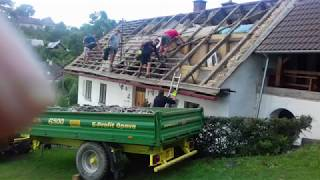 Jak se co dělá. Střecha na chalupě.