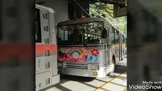 関西電力300型トロリーバス(無軌条電車)