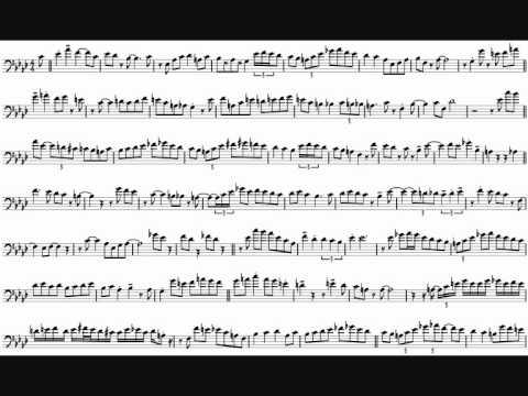 Carl Fontana 'Hey There' Trombone Solo Transcription