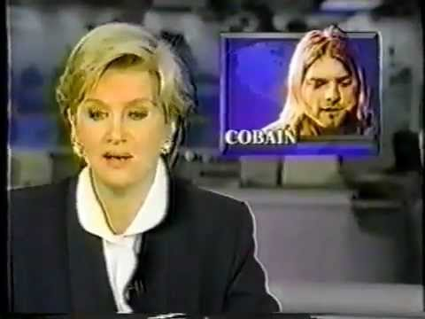 Kurt Cobain's Death Report from ABC News (April 8, 1994)