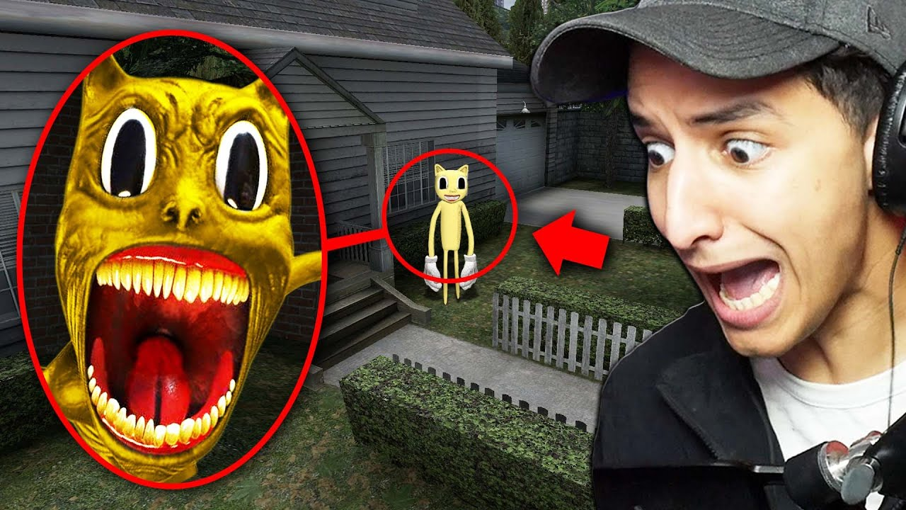 Download If You See GOLDEN CARTOON CAT Outside Your House, RUN AWAY FAST!!