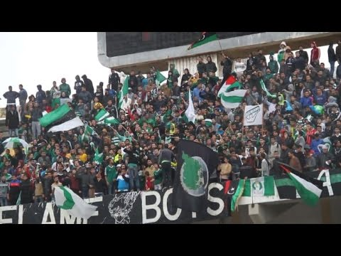Libyans celebrate football revival in their war-torn country