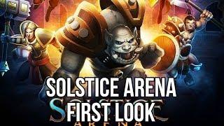Solstice Arena (Free MOBA Game): Watcha Playin