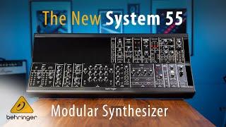 NAMM 2020 – Introducing: System 55 Modular Synthesizer