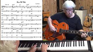 All Of You - Jazz guitar & piano cover ( Cole Porter )