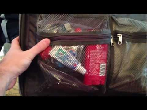 How to pack carry-on bag for air travel