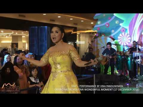 """DIA"" - VINA PANDUWINATA live performance at GRAND METROPOLITAN (Wond3rful Moment 17 Dec 2016)"