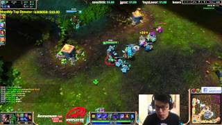 Toyz S2 World Champion - Twisted Fate vs Morgana [Diamond 1 / Challenger]