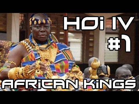 HOI IV African Kings VS Multiplayer! #1 (Millennium Dawn Mod)