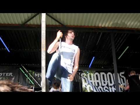 Shadows Chasing Ghosts - S.O.S (feat. Kevin from YASHIN), Live @ Moshpit Open 2010