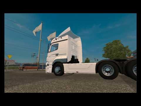 [ETS2]Euro Truck Simulator 2 Turkish Job Mercedes Benz Axor