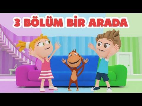 Kukuli – Eğlenceli Çocuk Çizgi Filmleri | Pasaklı Kukuli & Mavi Lale & Hıçkırık | 3 Bölüm Bir Arada