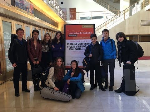 Jacobs School of Music Virtuosi Argentina 2016