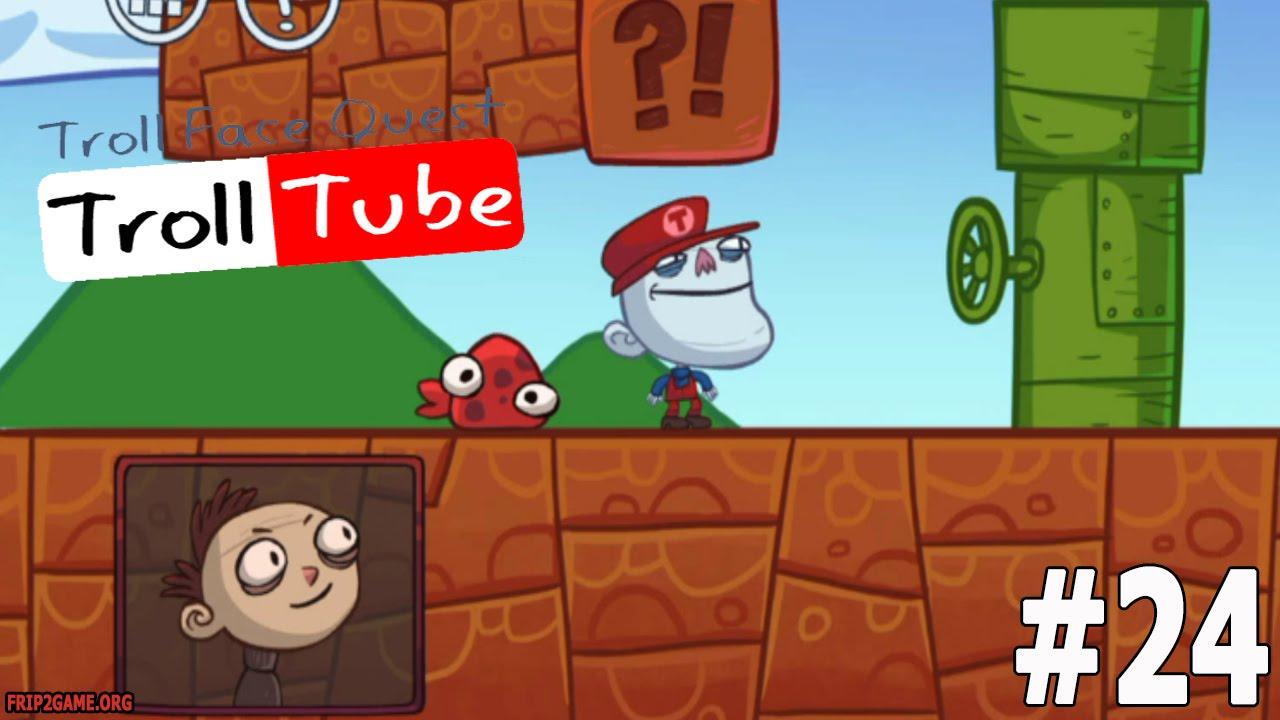 Troll Face Quest Video Memes Level #24 Walkthrough - YouTube