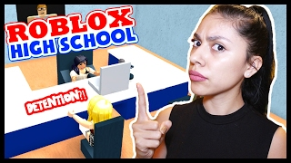 I'M THE MEAN PRINCIPAL! - ROBLOX HIGH SCHOOL