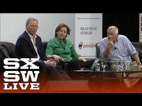 "Eric Schmidt, Megan Smith & Walter Isaacson: ""How Innovation Happens"" | Interactive 2015 | SXSW"