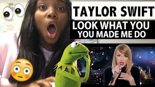 TAYLOR SWIFT - LOOK WHAT YOU MADE ME DO - OFFICIAL MUSIC VIDEO - REACTION