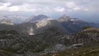 Pogled sa Stošca na Podske vrhove, Vojinovac, Gradište, Tali, Maganik i Brnjičko-Manito jezero
