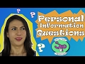 How to Ask Personal Information Questions in Spanish
