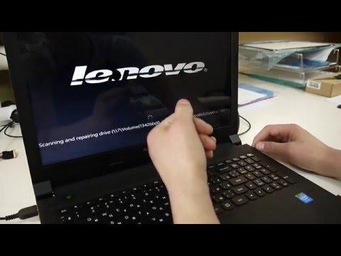Замена  матрицы  на ноутбуке Lenovo B50-30
