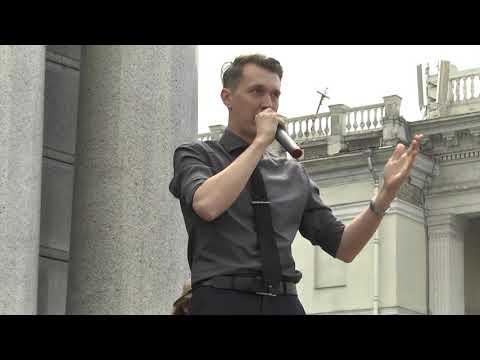 У Києві відбулася акція на підтримку військовополонених моряків