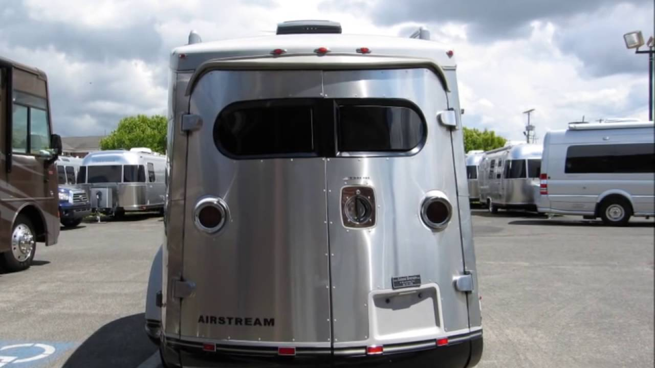 Airstream Basecamp For Sale >> Used Airstream Basecamp For Sale Toy Hauler Camping Trailer Small Bambi Tiny Teardrop - YouTube