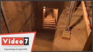 """وزير الآثار يفتتح مقبرة """"مايا"""" مرضعة الملك توت عنخ آمون"""