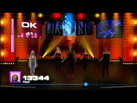 Let's Dance With Mel B (PS3, Xbox360) - Gameplay #1 - Rihanna - Disturbia