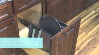 Medallion Cabinetry: Pull-out Tray Divider, Kitchen Storage Part 1