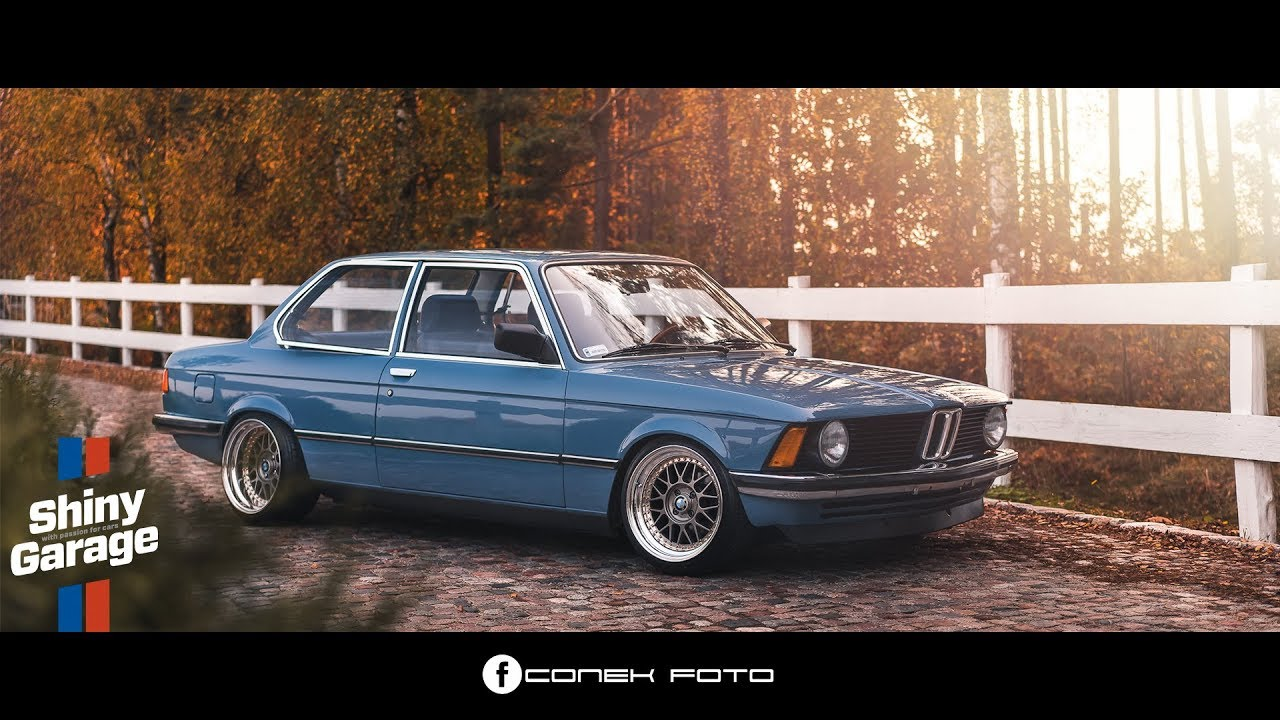hight resolution of bmw e21 shiny garage yellow snow foam