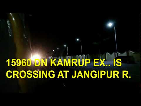 journey by KAMRUP EXPRESS (HOWRAH- NJP) and review..
