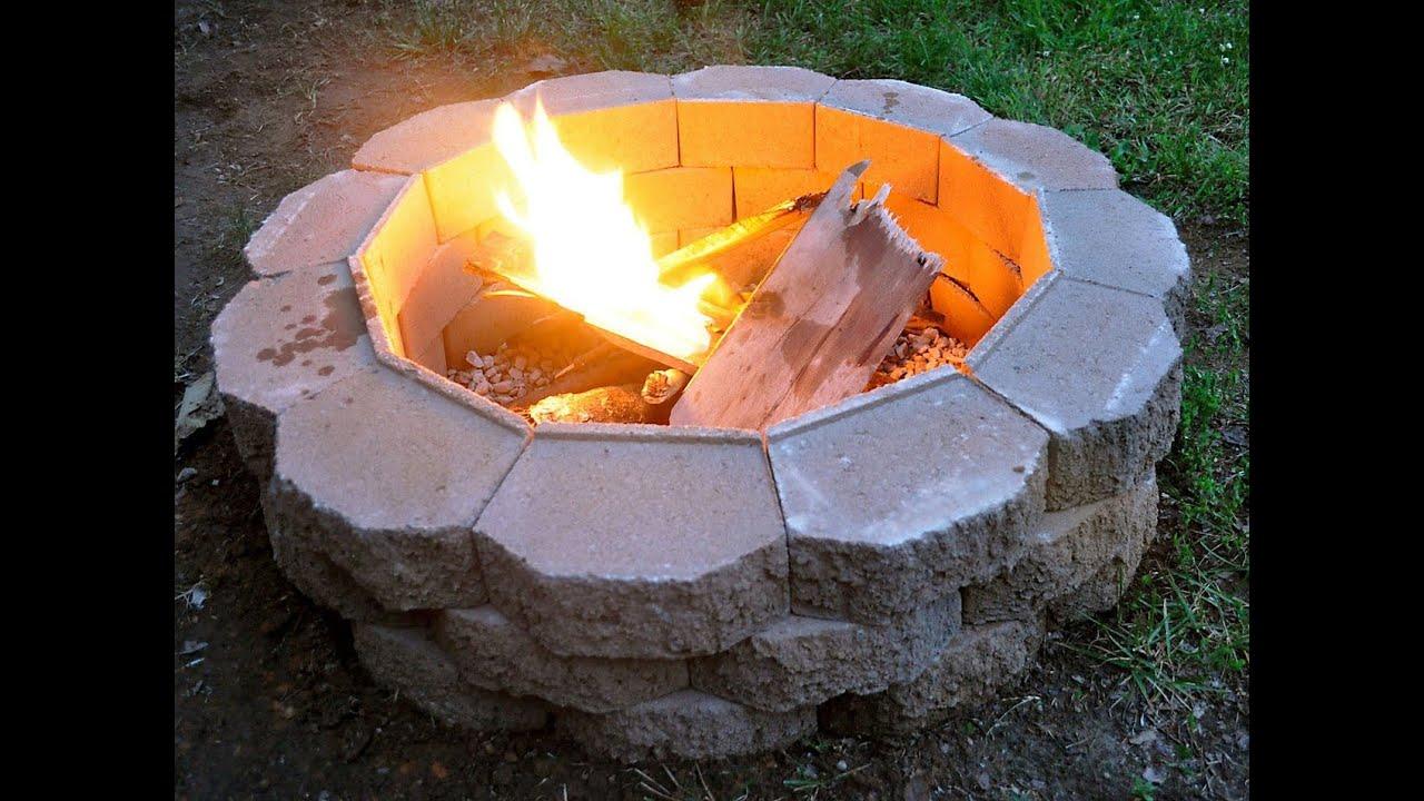feuerstelle im garten selber bauen. diy feuerstelle im garten, Garten und Bauten