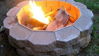 Feuerstelle im garten selber bauen. Diy Feuerstelle im garten.