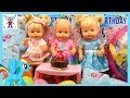 Bebés Nenuco HERMANITAS TRAVIESAS Fiesta de Cumpleaños de Alice de My Little Pony con REGALOS