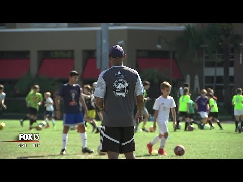 World Cup fever hits Tampa youth soccer camp