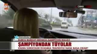 Burcu Burkut Erenkul - ATV - Kahvaltı Haberleri -Canlı Yayın - 16.01.2014