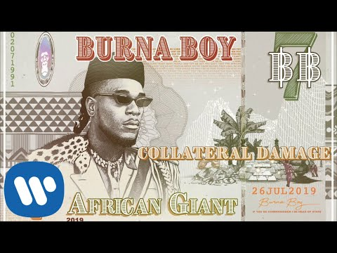 Burna Boy Collateral Damage Official Audio