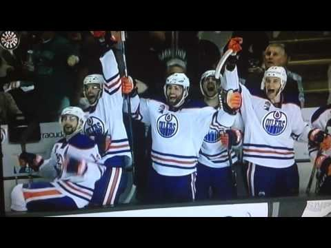 oilers vs sharks G6 R1 2017 playoffs EDM WINS 4 - 2