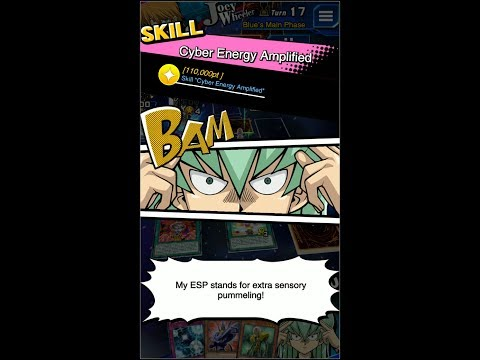 Yugioh Duel Links - New Espa Roba's Skill : Cyber Energy Amplified!