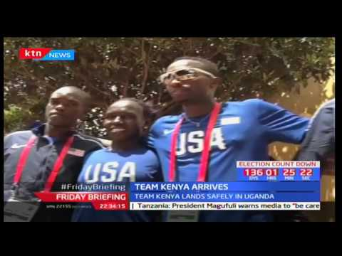 Kenyan X country team is set for IAAF championships in Uganda