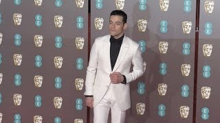 Rami Malek at the 2019 EE British Academy Film Awards in London