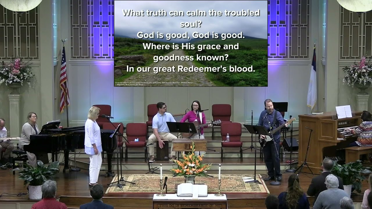 April 25, 2021 Service [Trimmed] at First Baptist Thomson, Streaming License 201531172