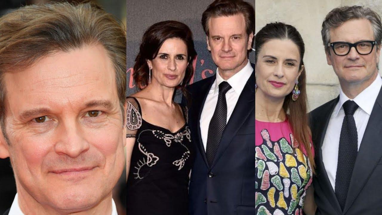 Actor Colin Firth Family Photos Wife Livia Giuggioli, Son ...